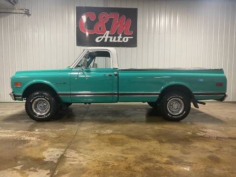 1972 Chevrolet C/K 10 Series for sale at C&M Auto in Worthing SD