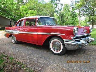 1957 Pontiac Chieftain for sale at Haggle Me Classics in Hobart IN