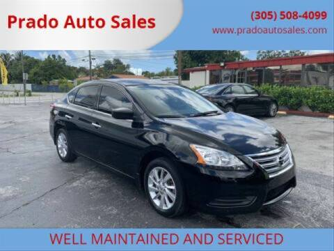 2015 Nissan Sentra for sale at Prado Auto Sales in Miami FL