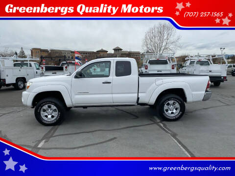 2010 Toyota Tacoma for sale at Greenbergs Quality Motors in Napa CA
