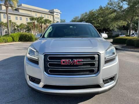 2016 GMC Acadia for sale at Gulf Financial Solutions Inc DBA GFS Autos in Panama City Beach FL