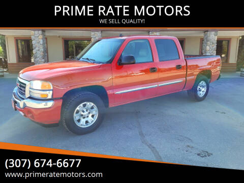 2007 GMC Sierra 1500 Classic for sale at PRIME RATE MOTORS in Sheridan WY