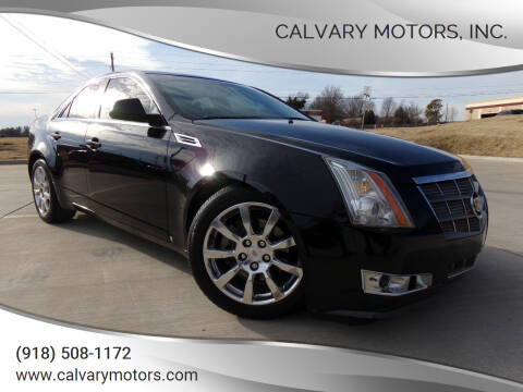 2008 Cadillac CTS for sale at Calvary Motors, Inc. in Bixby OK