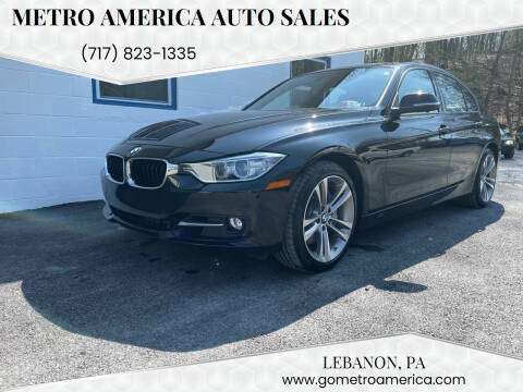 2014 BMW 3 Series for sale at METRO AMERICA AUTO SALES of Lebanon in Lebanon PA