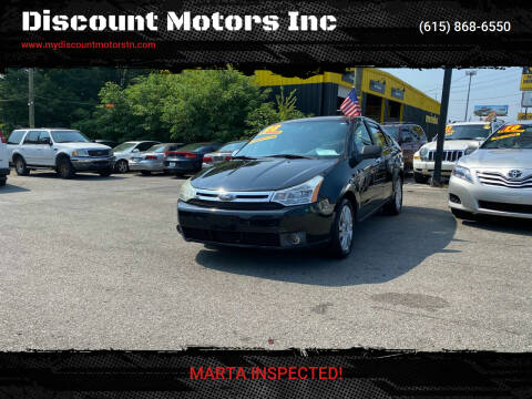 2008 Ford Focus for sale at Discount Motors Inc in Madison TN