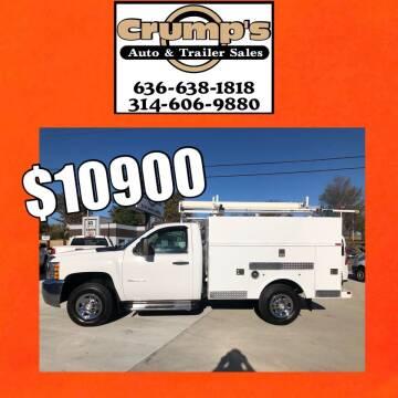 2010 Chevrolet Silverado 2500HD for sale at CRUMP'S AUTO & TRAILER SALES in Crystal City MO