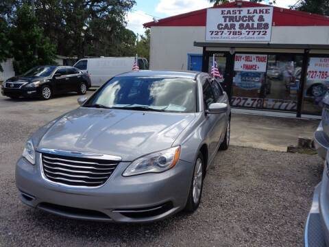 2014 Chrysler 200 for sale at EAST LAKE TRUCK & CAR SALES in Holiday FL