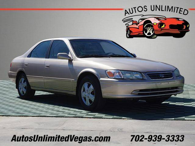 2001 Toyota Camry for sale at Autos Unlimited in Las Vegas NV