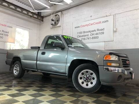 2006 GMC Sierra 1500 for sale at County Car Credit in Cleveland OH