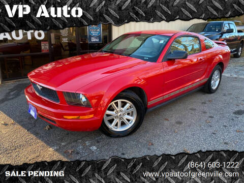 2006 Ford Mustang for sale at VP Auto in Greenville SC