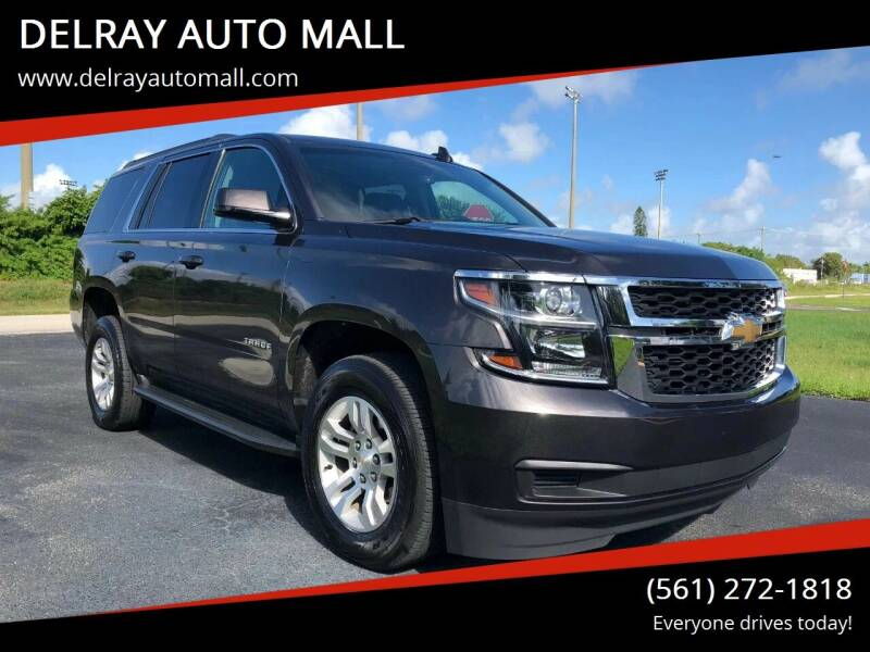 2018 Chevrolet Tahoe for sale at DELRAY AUTO MALL in Delray Beach FL