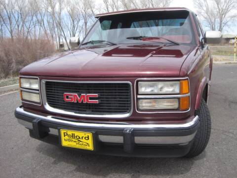 1994 GMC Sierra 1500 for sale at Pollard Brothers Motors in Montrose CO