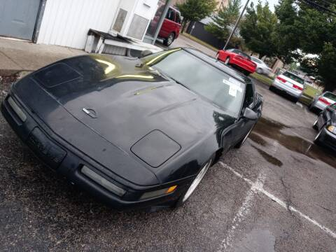 1995 Chevrolet Corvette for sale at Sportscar Group INC in Moraine OH