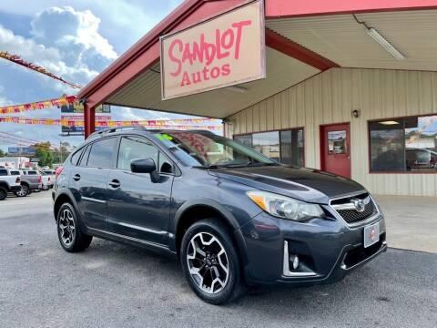 2016 Subaru Crosstrek for sale at Sandlot Autos in Tyler TX