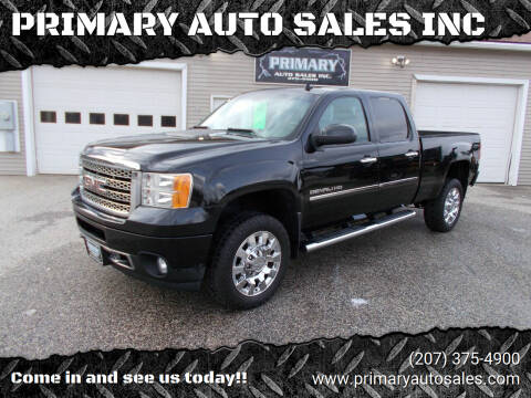 2012 GMC Sierra 2500HD for sale at PRIMARY AUTO SALES INC in Sabattus ME