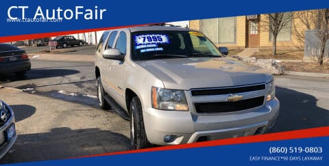 2007 Chevrolet Tahoe for sale at CT AutoFair in West Hartford CT