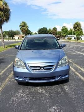 2007 Honda Odyssey for sale at Eden Cars Inc in Hollywood FL