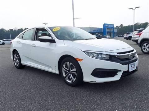 2018 Honda Civic for sale at Gentilini Motors in Woodbine NJ