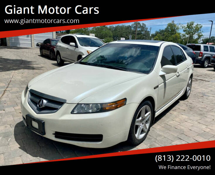 2006 Acura TL for sale at Giant Motor Cars in Tampa FL