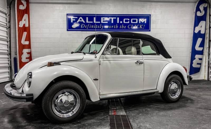 1979 Volkswagen Beetle Convertible for sale at Falleti Motors, Inc.  est. 1976 in Batavia NY