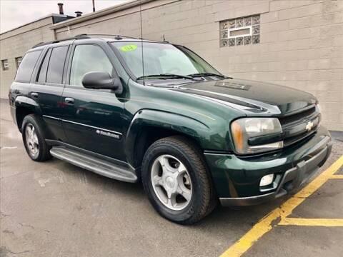 2004 Chevrolet TrailBlazer for sale at Richardson Sales & Service in Highland IN
