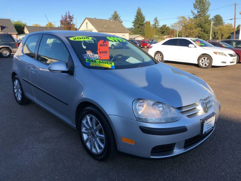 2008 Volkswagen Rabbit for sale at Freeborn Motors in Lafayette, OR