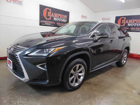 2018 Lexus RX 350L for sale at Champion Motors in Amherst NH