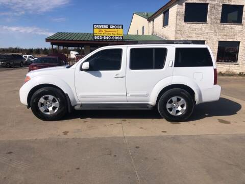 2007 Nissan Pathfinder for sale at Driver's Choice Sherman in Sherman TX