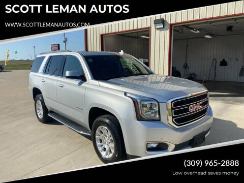 2017 GMC Yukon for sale at SCOTT LEMAN AUTOS in Goodfield IL