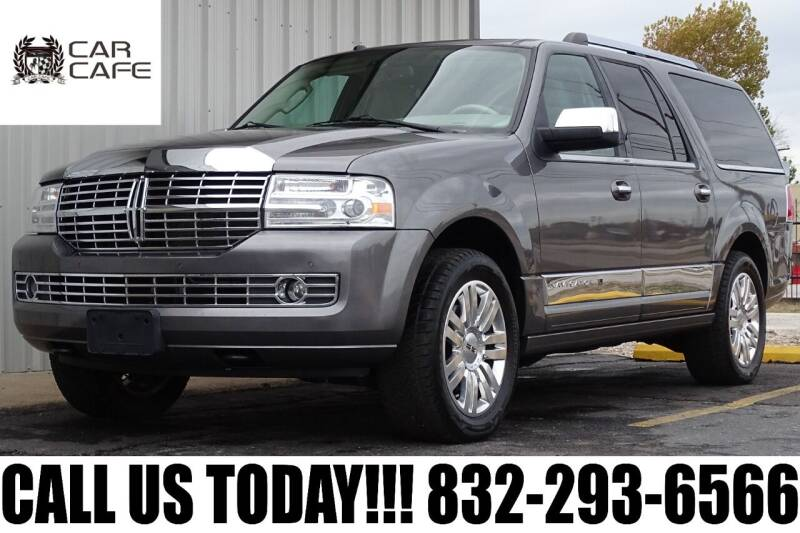 2012 Lincoln Navigator L for sale at CAR CAFE LLC in Houston TX
