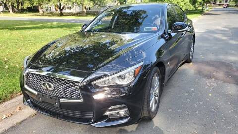 2015 Infiniti Q50 for sale at You Win Auto in Metro MN