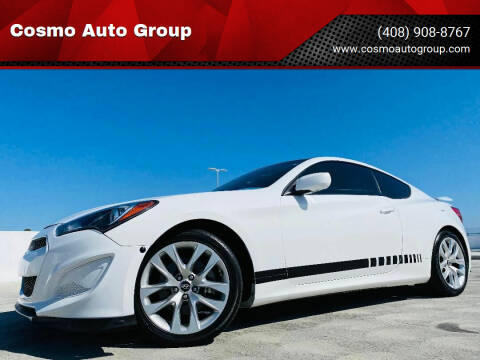 2013 Hyundai Genesis Coupe for sale at Cosmo Auto Group in San Jose CA