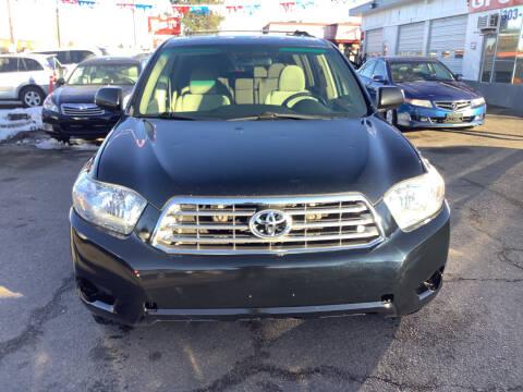 2008 Toyota Highlander for sale at GPS Motors in Denver CO