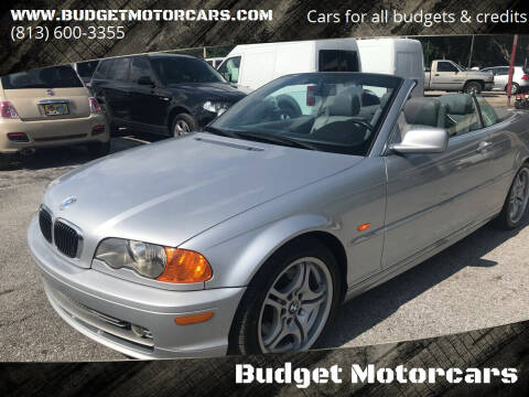 2001 BMW 3 Series for sale at Budget Motorcars in Tampa FL