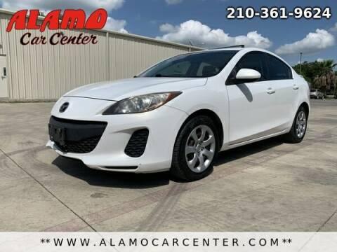 2012 Mazda MAZDA3 for sale at Alamo Car Center in San Antonio TX
