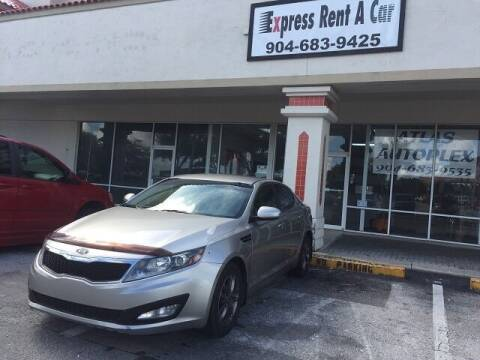 2012 Kia Optima for sale at Express Rent-A-Car in Jacksonville FL