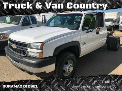 2006 Chevrolet Silverado 3500 for sale at Truck & Van Country in Shingle Springs CA