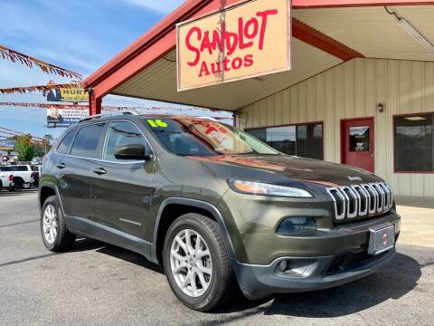 2016 Jeep Cherokee for sale at Sandlot Autos in Tyler TX