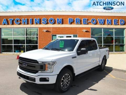 2018 Ford F-150 for sale at Atchinson Ford Sales Inc in Belleville MI