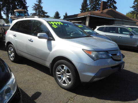 2009 Acura MDX for sale at Lino's Autos Inc in Vancouver WA