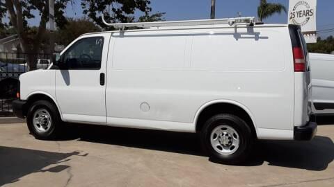 2012 Chevrolet E-250 for sale at DOYONDA AUTO SALES in Pomona CA
