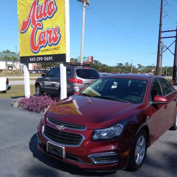 2015 Chevrolet Cruze for sale at Auto Cars in Murrells Inlet SC