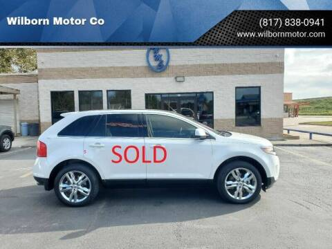 2011 Ford Edge for sale at Wilborn Motor Co in Fort Worth TX