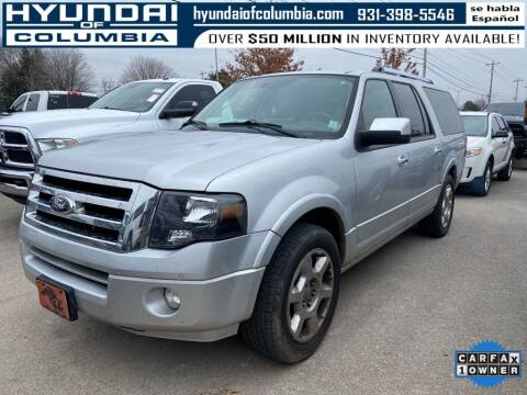 2013 Ford Expedition EL for sale at Hyundai of Columbia Con Alvaro in Columbia TN