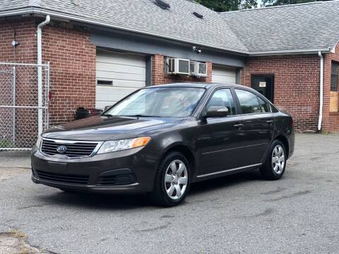 2009 Kia Optima for sale at Emory Street Auto Sales and Service in Attleboro MA