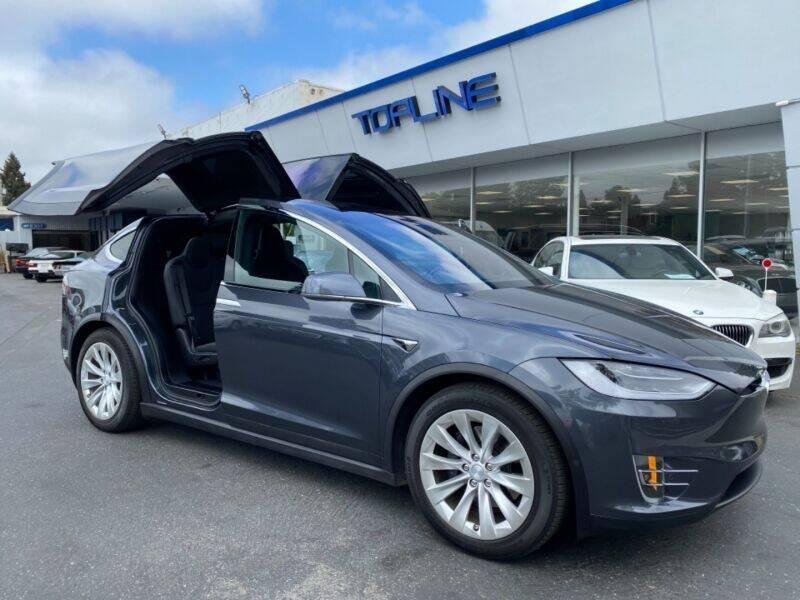 2017 Tesla Model X for sale in San Mateo, CA