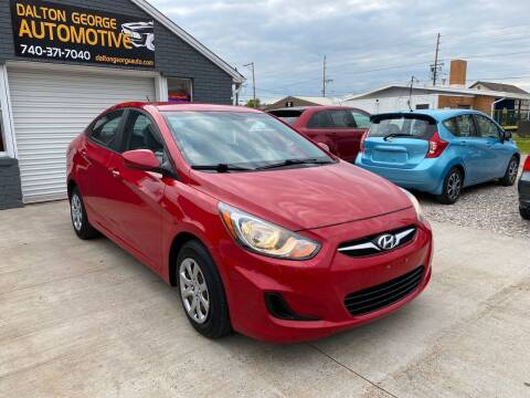 2013 Hyundai Accent for sale at Dalton George Automotive in Marietta OH