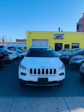 2015 Jeep Cherokee for sale at Hartford Auto Center in Hartford CT