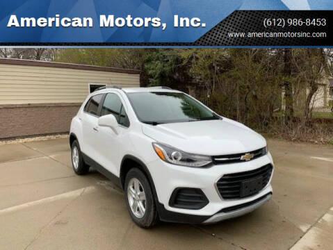 2020 Chevrolet Trax for sale at American Motors, Inc. in Farmington MN