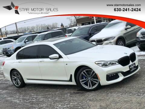 2016 BMW 7 Series for sale at Star Motor Sales in Downers Grove IL